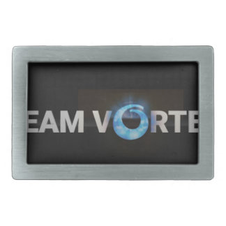 TeamVortex Rectangular Belt Buckle