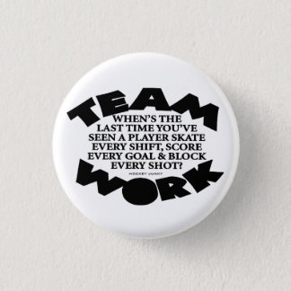 TEAMWORK 1 INCH ROUND BUTTON