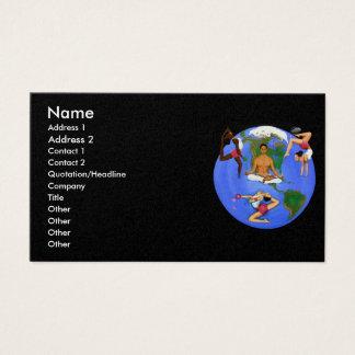 """""""TEAmwork"""" Business Card"""