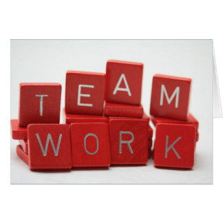 Teamwork Card