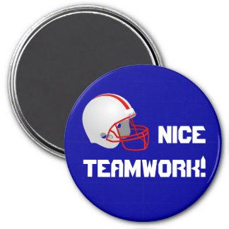 Teamwork - Football Magnet