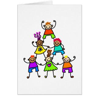 Teamwork Kids Card