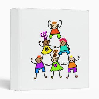 Teamwork Kids Vinyl Binders