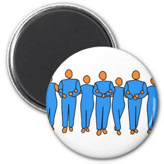 Teamwork Magnet