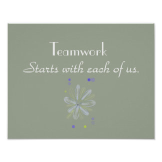 Teamwork Motivational Poster
