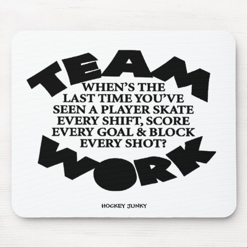 TEAMWORK MOUSE PADS