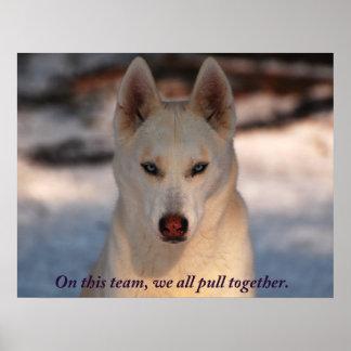 Teamwork Photo Poster
