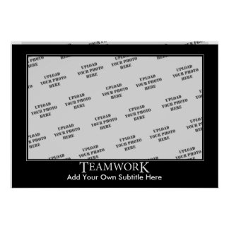 Teamwork Poster Template
