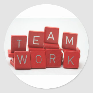 Teamwork stickers