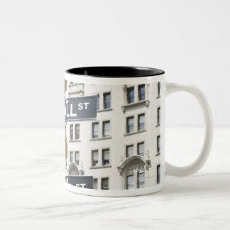 Teamwork Two-Tone Coffee Mug