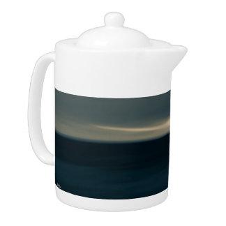 Teapot, abstract photograph