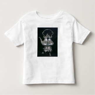 Teapot and kettle with lampstand and burner toddler t-shirt