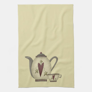Teapot and Teacup Kitchen Towel
