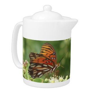 Teapot, Butterfly, Happy Mother's Day
