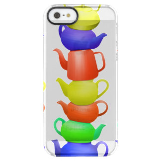 Teapot collection clear iPhone SE/5/5s case