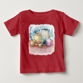 Teapot Family for child 2 Baby T-Shirt