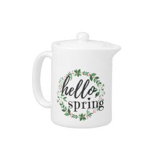 Teapot - Hello, Spring