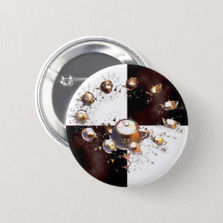 Teapot Party 2 Inch Round Button