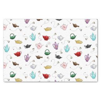 Teapot Pattern Tissue Paper