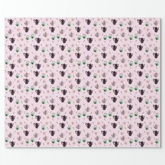 Teapot pattern wraping paper