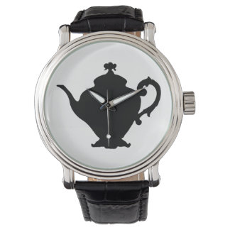 Teapot Silhouette Watch