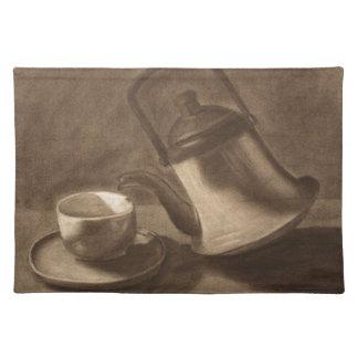 Teapot Still Life Placemat