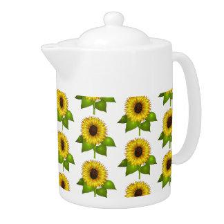 Teapot-Sunflowers