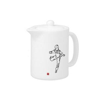 Teapot TAEKWONDO DWICHAGI back kick 02