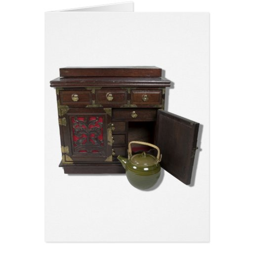 TeaPotChest081210 Greeting Card