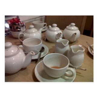 TeaPots Postcard