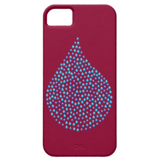 Tear Drop Iridescent iPhone 5 Cover
