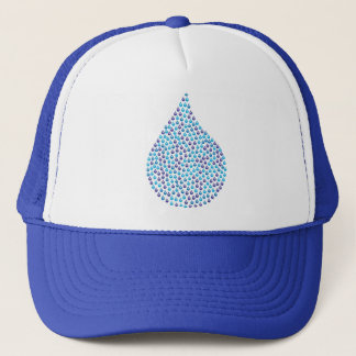 Tear Drop Iridescent Trucker Hat