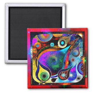 Tear Drop Vivid Universe Magnet