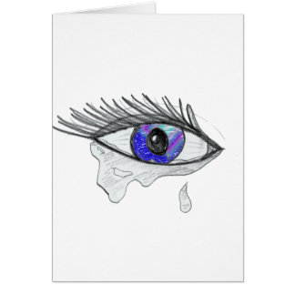 tear drops card