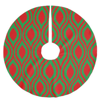 Teardrop Geometric by Cheryl Daniels Brushed Polyester Tree Skirt