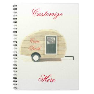 teardrop gypsy caravan casa notebook