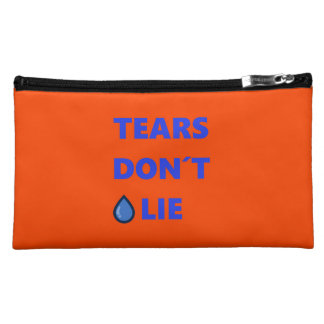 Tears Don't Lie Cosmetic Bag