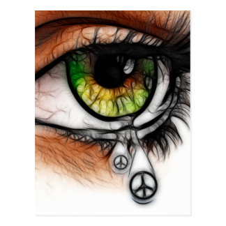 Tears For Peace Postcard