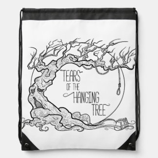 Tears of the Hanging Tree Drawstring Bag