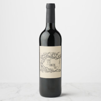 Tears of the Hanging Tree Wine Label