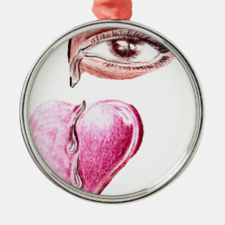 Tears to the Heart_ Metal Ornament