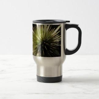 Teasel on display travel mug