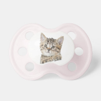 Teat Girl Low poly kitten Pacifier