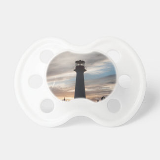 Teat of baby, photograph of a headlight pacifier