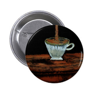 Teatime Pinback Button