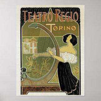 Teatro Regio Torino Poster