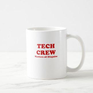 Tech Crew Masters of Disguise Basic White Mug