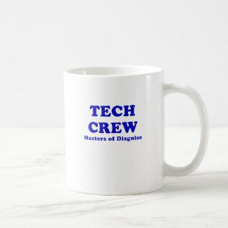 Tech Crew Masters of Disguise Classic White Coffee Mug