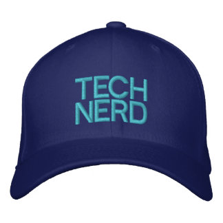 TECH NERD EMBROIDERED HAT