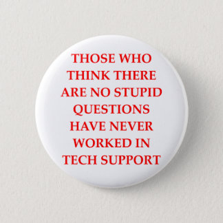 tech support 2 inch round button